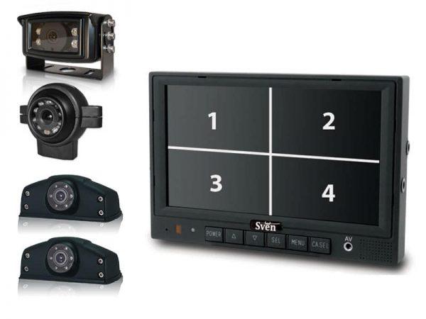 Achteruitrijcamera systeem SVEN pro