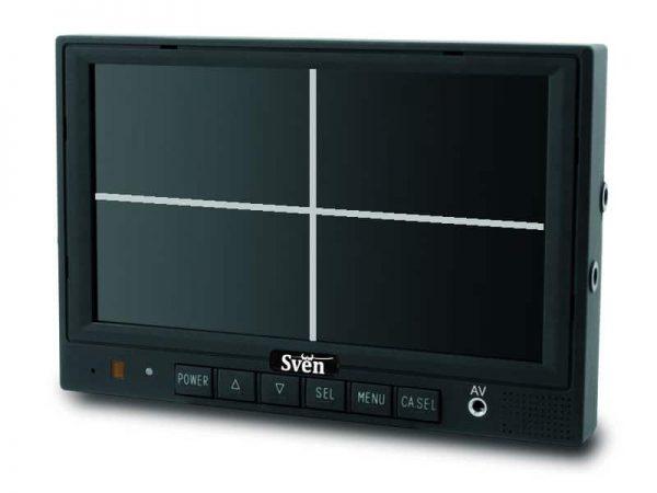 sven 7 inch quad scherm achteruitrijcamera