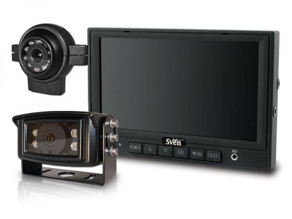 SVEN pro achteruitrijcamera front camera complete set