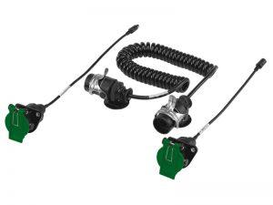 Dometic Waeco Perfectview SPK 170 spiraalkabelset achteruitrijcamera trailer oplegger
