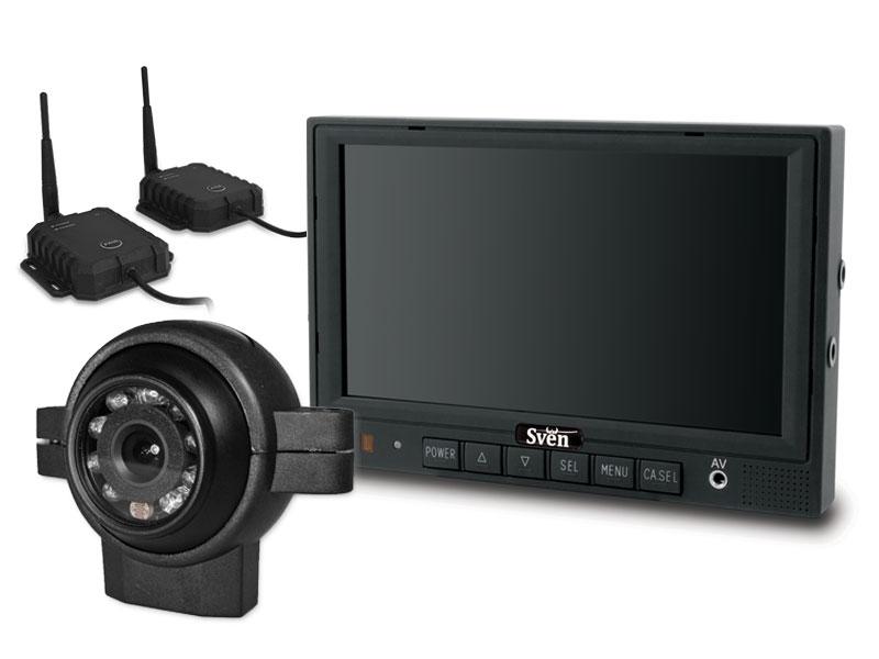 Professionele achteruitrijcamera set draadloos dubbele camera